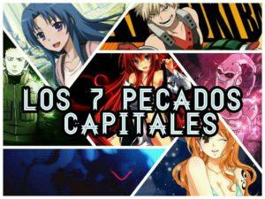 pecados capitales anime